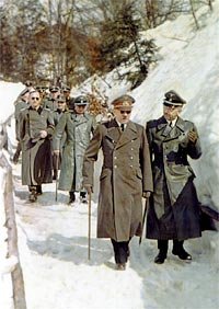Hitler at Berghof