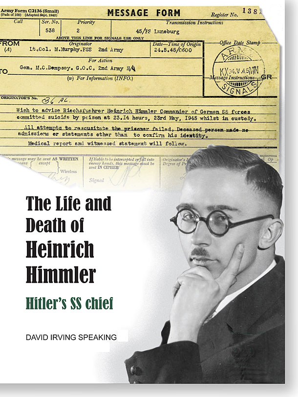 an introduction to the life of heinrich himmler One-evil: heinrich himmler of 1933 as the historic shift in the introduction of the initials ss and secondly to mask the of his life long mentor and.