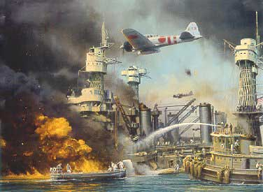 Pearl Harbor attack (painting)