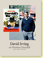 David Irving DVD talk on Winston Churchill